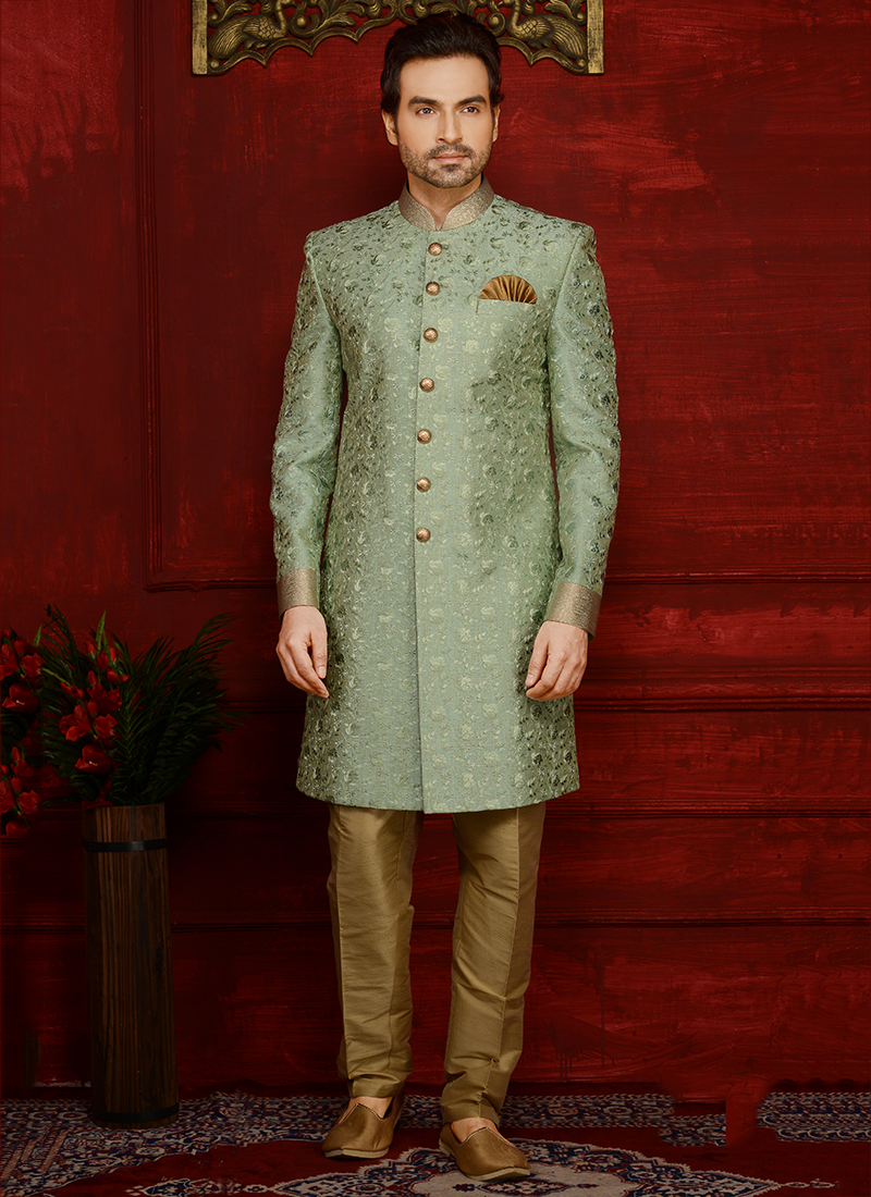 Heavy Embroidery Groom Sherwanis Wholesale Collection Catalog