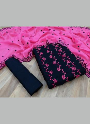 Pink Kota Chex Casual Wear Multi Work Salwar Suit