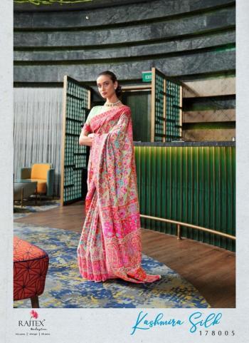 Cream Silk Festival Wear Weaving Saree