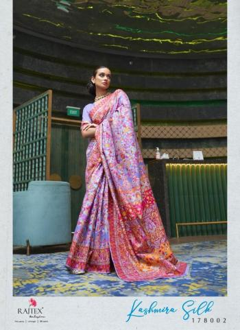 Light Purple Silk Festival Wear Weaving Saree