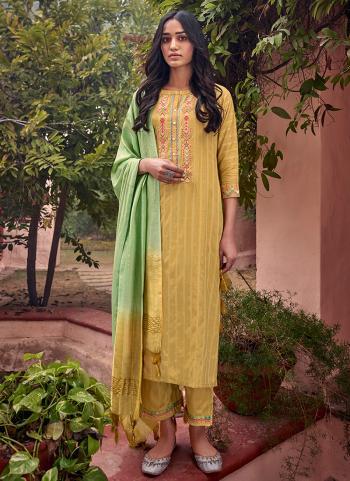 Beige Viscose Festival Wear Embroidery Work Readymade Salwar Suit