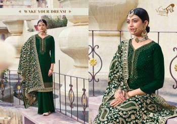 Green Georgette Festival Wear Diamond Work Palazzo Suit