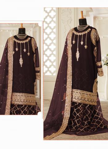 Green Georgette Wedding Wear Heavy Hand Work Pakistani Suit