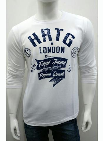 Cream Cotton Casual Wear Plain T-Shirts
