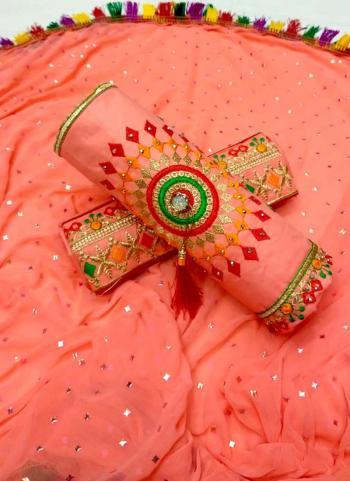Gajri Cotton Regular Wear Payal Work Salwar Suit