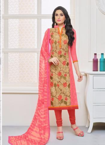 Gajri Modal Cotton Daily Wear Printed Work Churidar Style