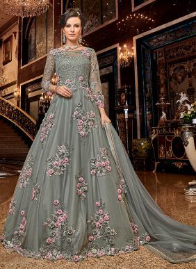 Latest Designer Royal Look Wedding Wear Heavy Work Salwar Suits Collection