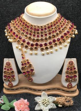 Classy Designer Wedding Necklace Set Collection