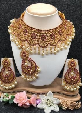 Heavy Designer Necklace Set Collection For Wedding
