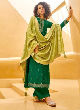 Ibiza Azviyah Pure Pashmina Jacquard Latest Designer Traditional Wear Palazzo Suits Collection