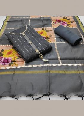 Gota Patti Work Latest Designer Chanderi Festival Wear Salwar Suits Collection