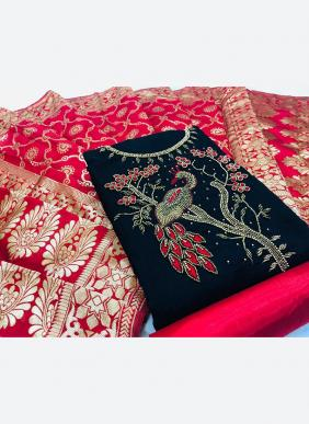 Hand Work New Designer Modal Silk Casual Wear Salwar Suits Collection