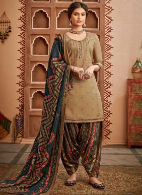 Alok Suit Shan-E-Punjab Exclusive Designer Pure Pashmina Winter Special Casual Wear Patiyala Suits Collection