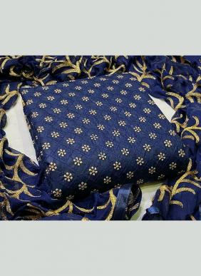 Chain Stitch Work New Designer PC Cotton Casual Wear Salwar Suits Collection