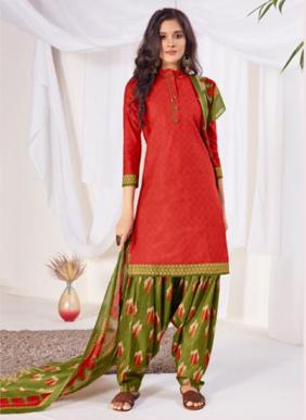 Suryajyoti Sui Dhaga Patiyala Vol 8 New Fancy Daily Wear Cotton Readymade Patiala Suits Collection