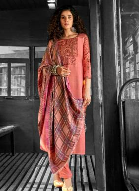 Ibiza Mehreen Fancy Embroidery Work New Designer Wool Pashmina Palazzo Suits Winter Collection