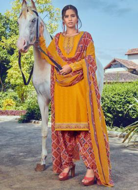 Aarav Trendz Miraya Vol 18 French Crepe Embroidery Work New Designer Patiyala Suits Collection