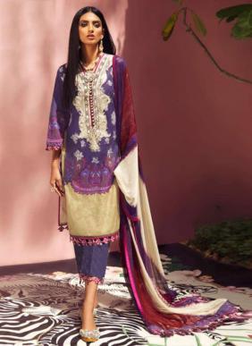 Kaara Firdous Vol 6 Jam Satin Heavy Embroidery Work Latest Designer Pakistani Suits Collection