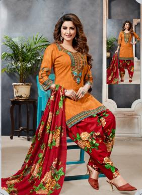 Palak Choice Baby Doll Vol 2 Daily Wear New Fancy Printed Cotton Patiyala Suits Collection For Girls