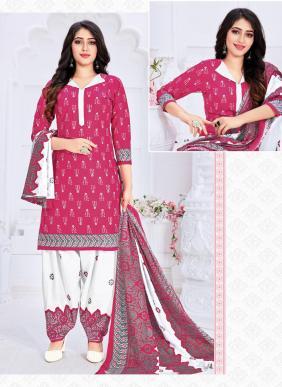 Kohinoor Digital Printed New Fancy Pure Cotton Regular Wear Patiyala Suits Collection
