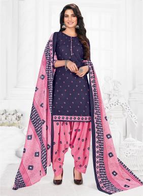Riddhi Siddhi Priya Vol 5 New Designer Casual Wear Printed Cotton Readymade Patiyala Suits Collection