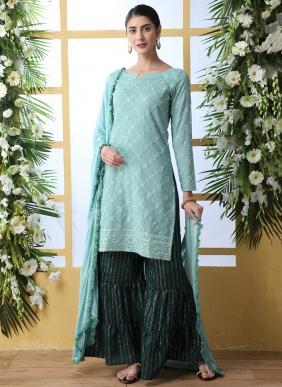 Ramzan Eid Special New Designer Thread Work Salwar Suits Collection