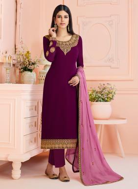 Ramzan Eid Special Latest Designer Georgette Churidar Suits Collection