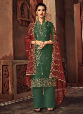 Russian Silk New Designer This Eid Special Palazzo Suits Collection