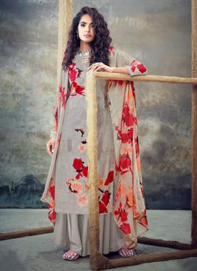 Pure otton Daily Wear Fancy Digital Printed Palazzo Suits Collection
