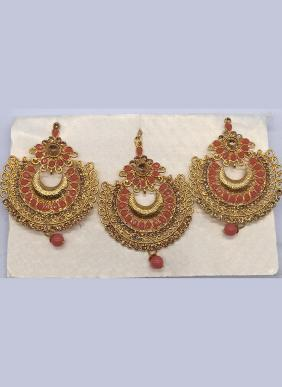 Festival Wear Designer Earrings And Maang Tikka Collection