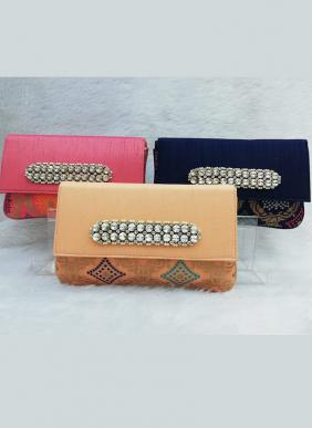 Diamond Studed Box Clutches