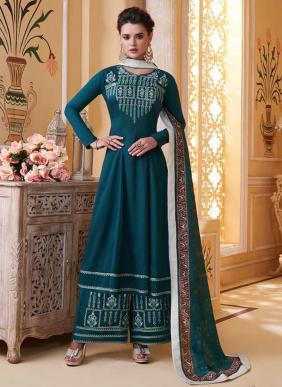 Sajawat Saarthi Vol 9 Pure Muslin Latest Designer Party Wear Readymade Palazzo Suits Collection