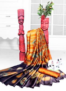 Ragoli Digital Printed Latest Designer Rangoli Silk Festival Wear Sarees Collection