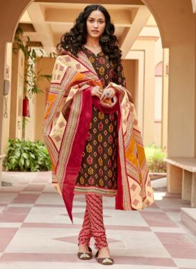Sweety Fashion Bhoom Bhoom Vol 38 Soft Cotton Daily Wear Printed Churidar Suits Collection