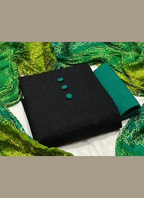 Chikan Work Chiffli Work Casual Wear Cotton Salwar Suits Collection