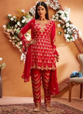 Your Choice Maria B Latest Designer Heavy Embroidery Work Readymade Pakistani Suits Collection