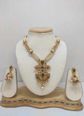 Gold Plated Traditional Jewellery Necklace Set Collection