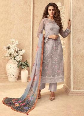 Zoya Grace New Designer Party Wear Heavy Net Embroidery Work Salwar Suits Collection