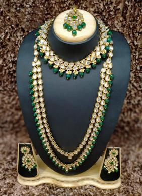 Latest Designer Bridal Kundan Necklace Collection