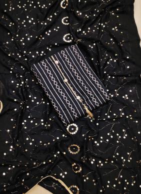 Muslin Cotton New Designer Beautiful Colors Non Catalog Salwar Suits Collection