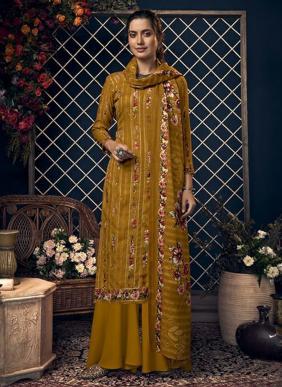 Belliza Kashmiriyat Winter Special Digital Printed Daily Wear Pashmina Palazzo Suits Collection
