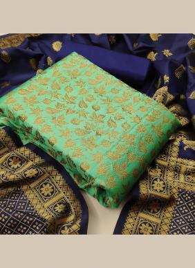 Festival Wear Latest Designer Banarasi Silk Salwar Suits Collection