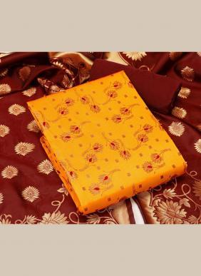 Banarasi Silk Latest Designer Traditional Wear Salwar Suits Non Catalog Collection