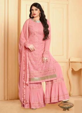 Your Choice Rajwadi Vol 2 Lakhnavi Work Faux Georgette New Designer Sharara Suits Collection