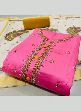 New Designer Embroidery Work PC Cotton New Designer Salwar Suits Collection