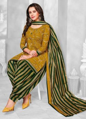 Balaji Cotton Chulbuli Patiyala New Fancy Regular Wear Cotton Patiyala Suits Collection