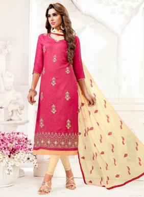 Jinesh NX Anika Vol 1 Cotton Jacquard New Designer Daily Wear Churidar Suits Collection
