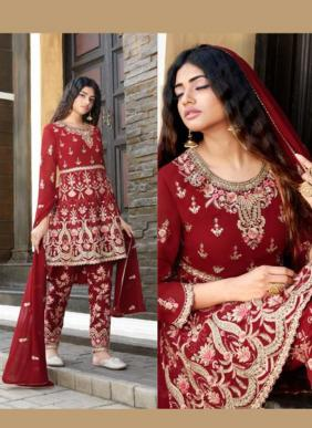 Your Choice Raziya New Designer Eid Special Georgette Salwar Suits Collection