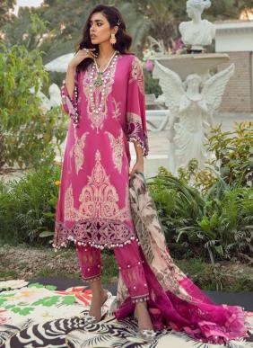 Shree Fab Sana Safinaz Vol 4 Pure Lawn Cotton Pakistani Suits Collection