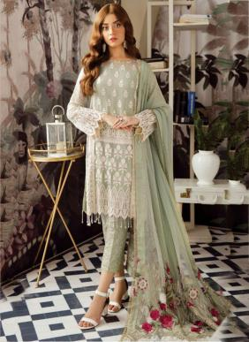 Ramsha Mix Design Ramzan Eid Special New Designer Embroidery Work Pakistani Suits Collection